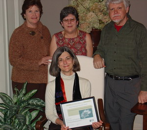 Sierra Club award - Click to enlarge